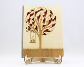 Wedding Tree with Love Bi...