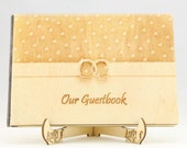 Wedding Rings Guest Book,...