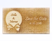 Rustic Save the Date Magn...