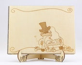 Wedding Car Guest Book, W...