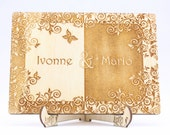Rustic Wedding Frame Wood...