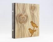 Ring Binder Birds Wood, O...