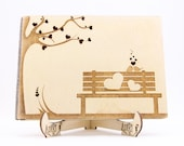 Bench Guest Book, Wedding...