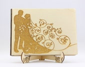 Wedding Wooden Guest Book...