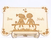 Wedding Invitation Wood, ...