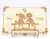 Wedding Invitation Wood, ...