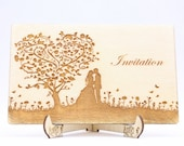 Invitation Wedding Tree, ...