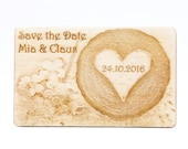 Rustic Wood Save the Date...