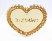 Laser Cut Wedding Invitat...