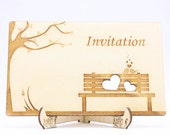 Wedding Invitation Bench ...