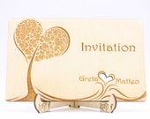 Laser Cut Invitation, Wed...