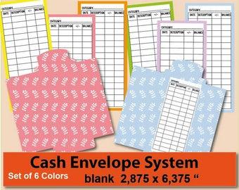 Cash Envelope Binder Etsy