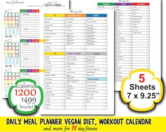 21 day fix meal plans focused on fitness.