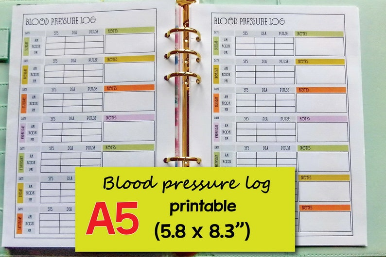 photo about Blood Pressure Log Printable identify Printable Blood Strain Log, Blood Tension Tracker, Pulse Tracker, Systolic Blood Strain, Diastolic Blood Strain -Quick Obtain