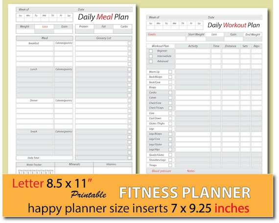 picture relating to Printable Weight Watchers Journal identified as dinner planner, bodyweight decline magazine, foods magazine, food items diary, excess weight watchers planner, content planner inserts, Letter measurement - Instantaneous Down load