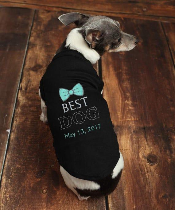 Dog Best Man Wedding Shirt Custom Dog Wedding Clothes Etsy
