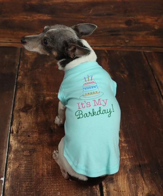 Its My Barkday Dog Shirt Birthday Custom