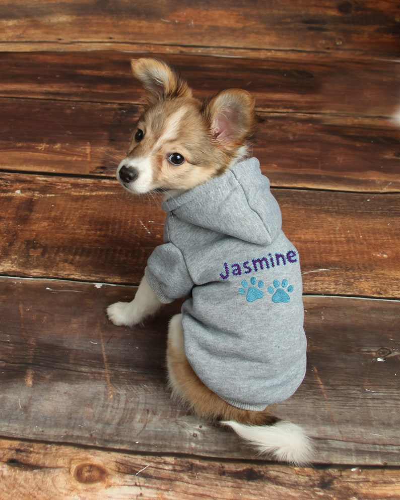 9bf2e53bef591 Personalized Dog Hoodie Custom Pet Hoodie Personalized Dog