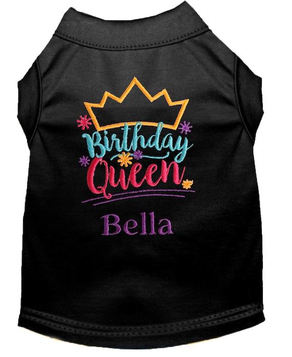 Birthday Dog Shirt Girl Queen