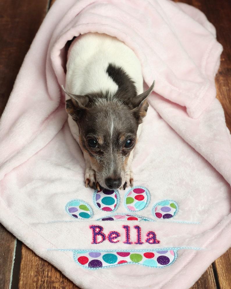 3c202180bf Personalized Pet Blanket Custom Pet Blanket Dog Blanket