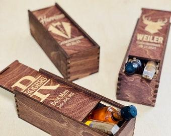 Groomsmen Gift Box, Gift Box For Groomsman, Groomsmen Wedding Favors Box, Gift Box for Groomsmen, Groomsman Proposal, Personalized Cigar Box
