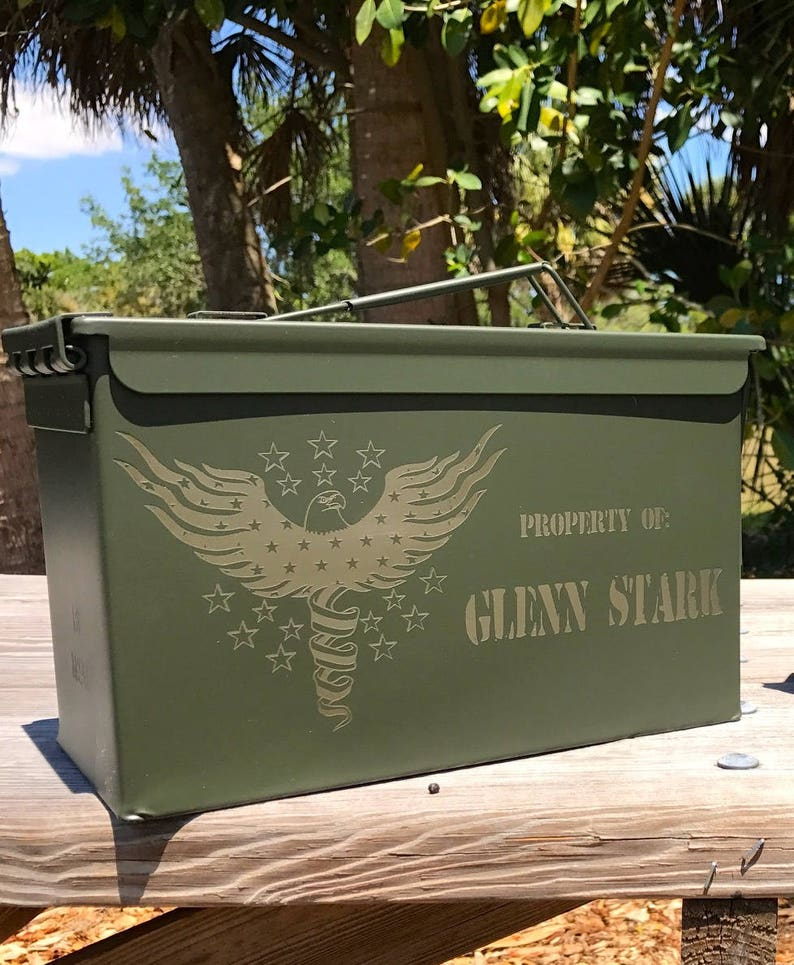 Boyfriend Gift Cool For Him Ammo Can Dad