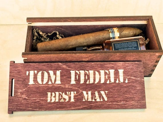 Groomsmen Proposal Groomsman Gift Box Groomsman Box Father Of The Bride Unique Groomsmen Gift Cigar Box Man Gift Be My Best Man