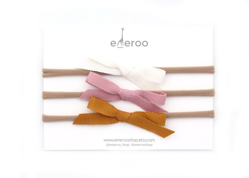 Emeroo Fall Ribbon Set