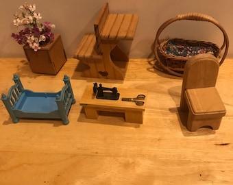 Dollhouse Furniture Etsy