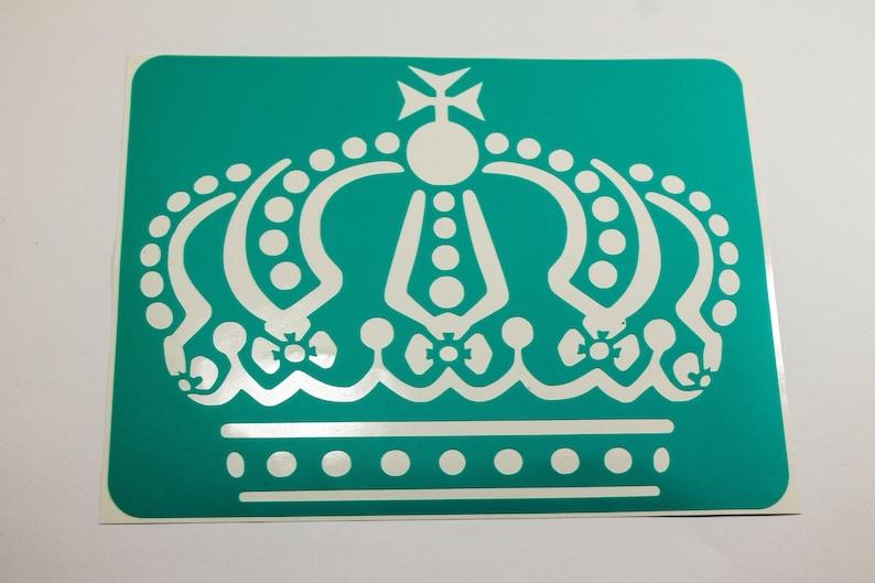 Vinyl stencils crown reusable stencil for art vinyl stencils for wood sign  vinyl stencil for fabric vinyl stencils for painting decoration