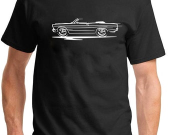 1963 Ford Fairlane American Muscle Car Color Design Tshirt NEW Free Ship