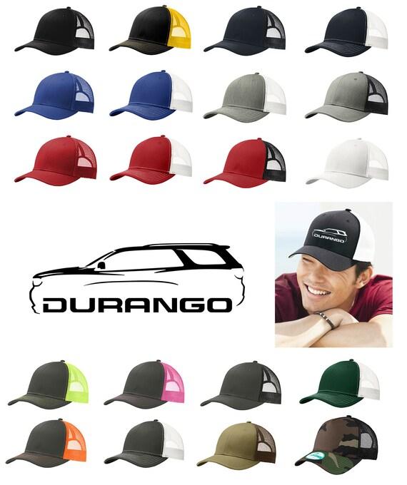 Dodge Durango SUV Classic Color Outline Design Hat Cap