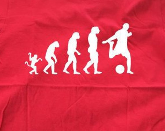 Evolution Football Shirt. Football World Cup Shirt. Football Evolution Shirt. Football Tee. Football Gift. Footballer Shirt. Graphic Tee.