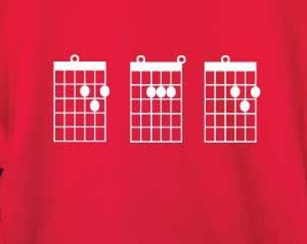 2790cc4a7 Dad Guitar Chords Sweatshirt. Guitar Dad Sweatshirt. Dad Sweatshirt. Dad  Gift. Father's Day Sweater.