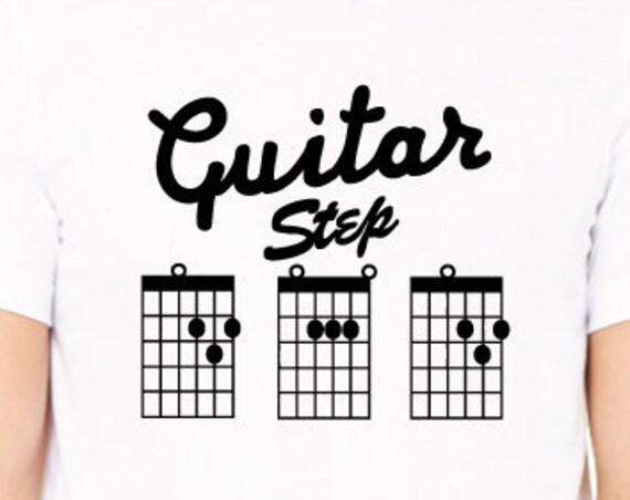 Guitar Stepdad Shirt. Guitar Shirt. Stepfather Shirt. Guitar Chord Shirt. Guitar Tab Shirt. Guitarist Shirt. Step Dad Shirt. Bonus Dad Gift