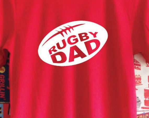 Rugby Dad T-Shirt. Rugby World Cup. Six Nations Canada Cup T-Shirt. Rugby Shirt. Dad Shirt. Father's Day Gift. Gifts for Dad. Rugby Gift.