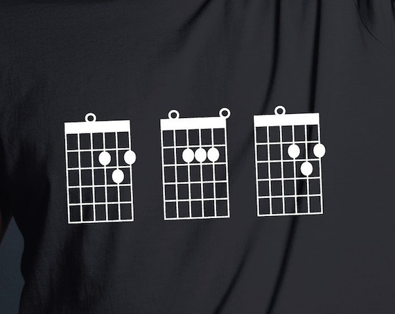 Dad Guitar Chords Shirt. Guitar Dad Shirt. Dad Shirt. Guitarist Shirt. Gifts For Dad. Dad Gifts. Guitar Player. Guitar Tab Shirt. Guitar Tee
