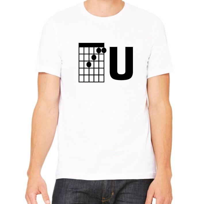 Fu Guitar F Chord Guitar T Shirt