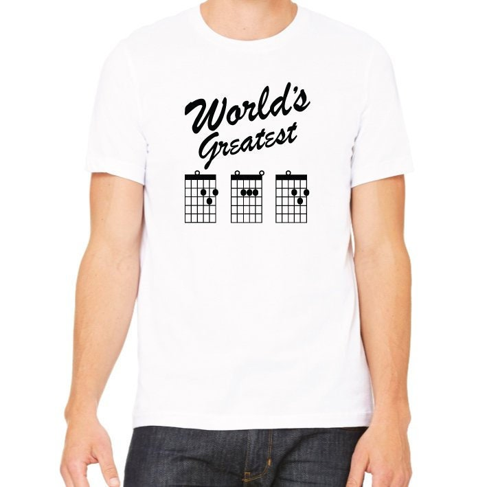c2ff2b834 World's Greatest Dad T-Shirt. Guitar Dad Shirt. Father's Day Gift. Best ...