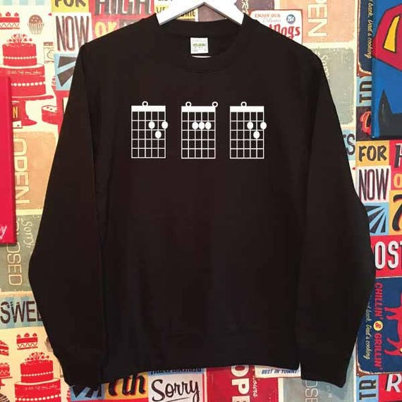 Dad Guitar Chords Sweatshirt.