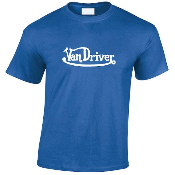 Van Driver T-Shirt. Von Dutch parody shirt