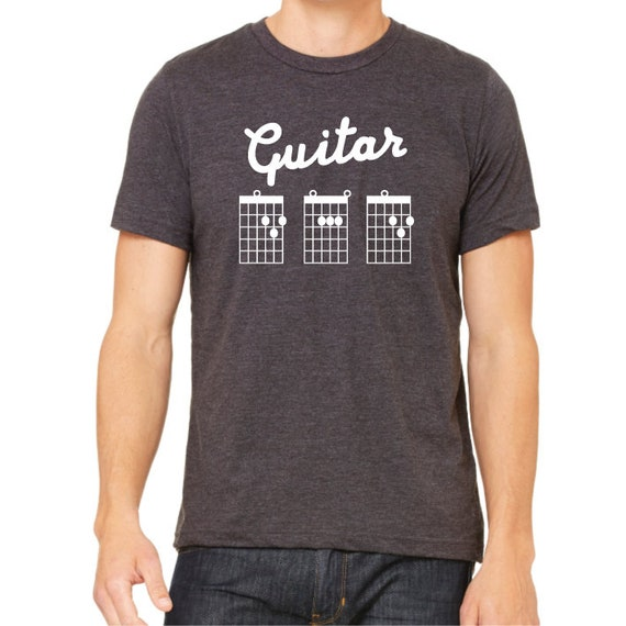 Guitar Dad T-Shirt. Dad Guitar Shirt.