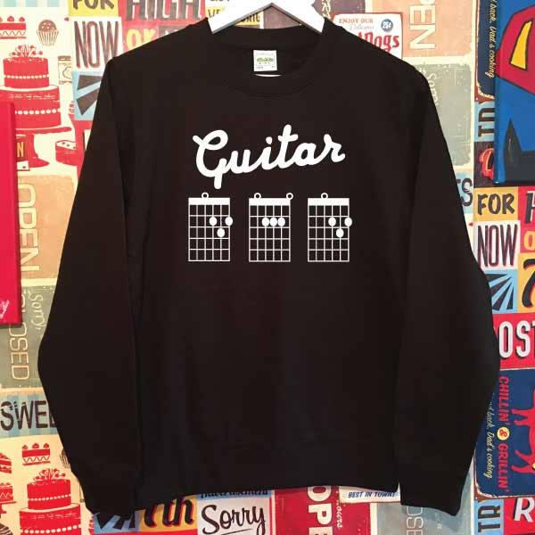 Guitar Dad Sweatshirt. Guitar Chords Dad Sweater. Dad Gift. Father\'s ...
