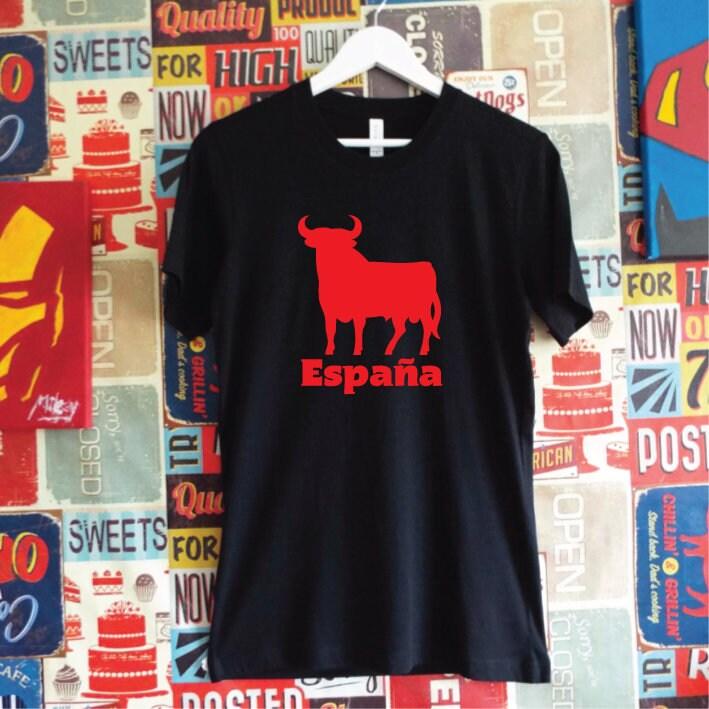 2f3225cc7 ... españa shirt torro shirt spain shirt spanish bull shirt spain ...