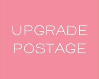 Postage Upgrade for US Customers