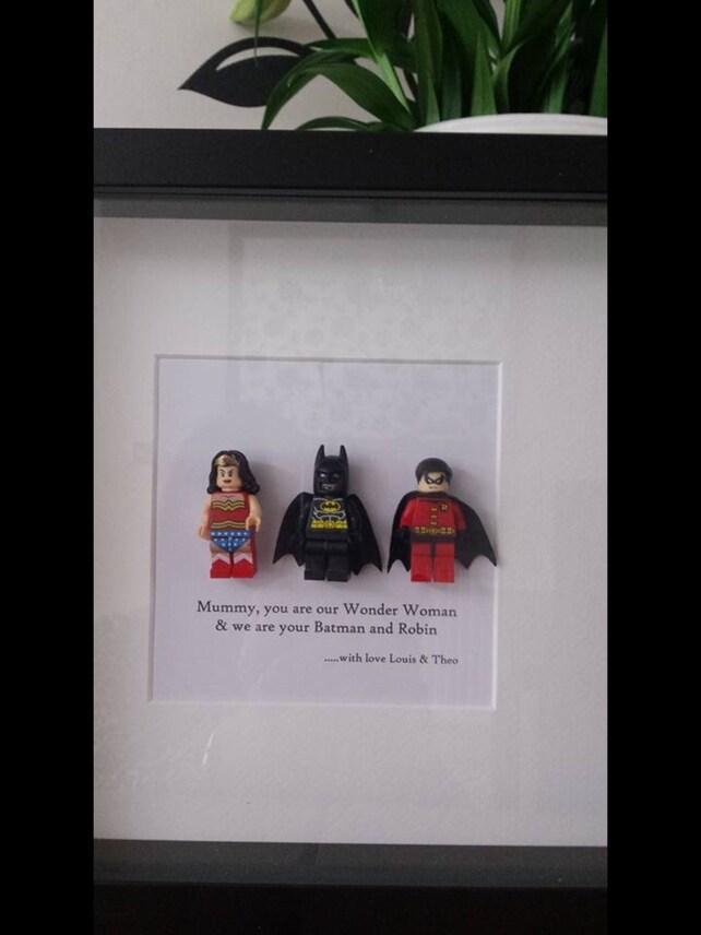 Geburtstag Geschenk Super Mama Mama Batman Robin Wonder Frau | Etsy