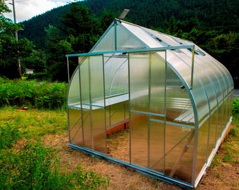 9x14 Growers Greenhouse, ClimaPod Virtue (6-mm twin wall polycarbonate)
