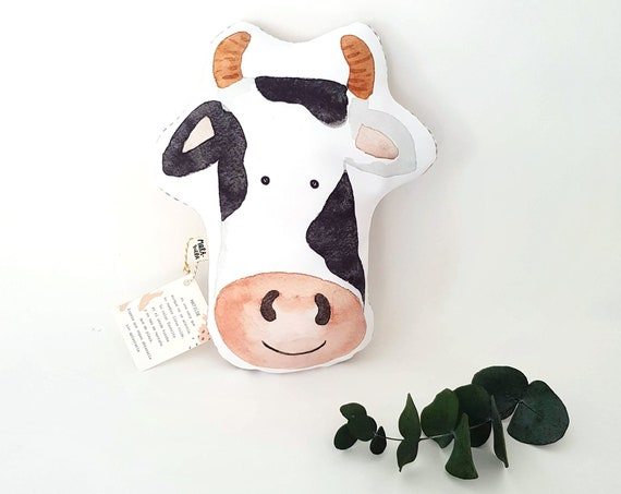 Cojín ilustrado Vaca MATILDE / Matilde Cow - Throw Pillow for babies
