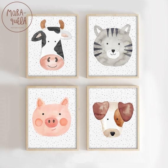 SET Animales de la Granja / Farm Animals Set