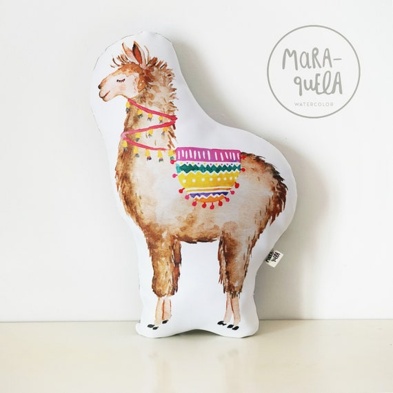 COJIN LLAMA decorativo / LLAMA Throw Pillow